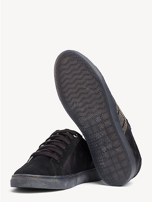 TOMMY HILFIGER Sneaker mit Satin-Finish - BLACK - TOMMY HILFIGER NEW IN - main image 1