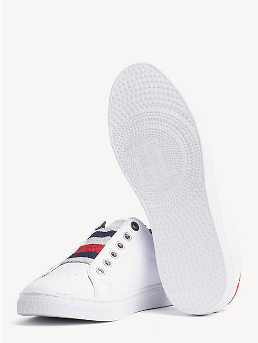 TOMMY HILFIGER Signature Elastic Slip-On Trainers - WHITE - TOMMY HILFIGER NEW IN - detail image 1