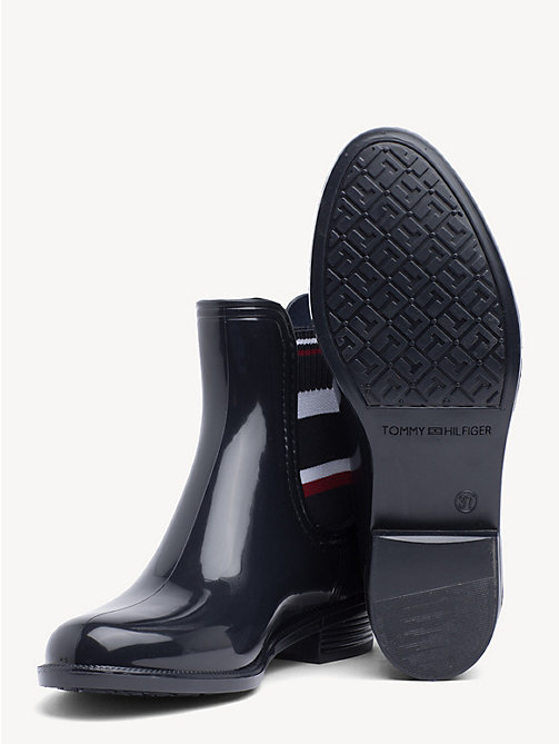 TOMMY HILFIGER Signature Rain Boots - MIDNIGHT - TOMMY HILFIGER Shoes & Accessories - detail image 1