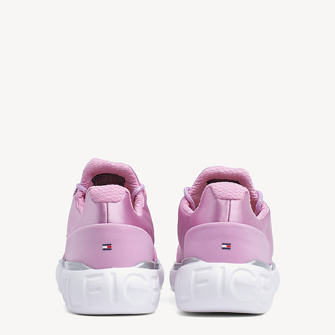 tommy hilfiger sneaker pink lavender