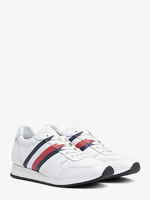 0c39e917fc TOMMY HILFIGERLeather Tommy Premium Trainers