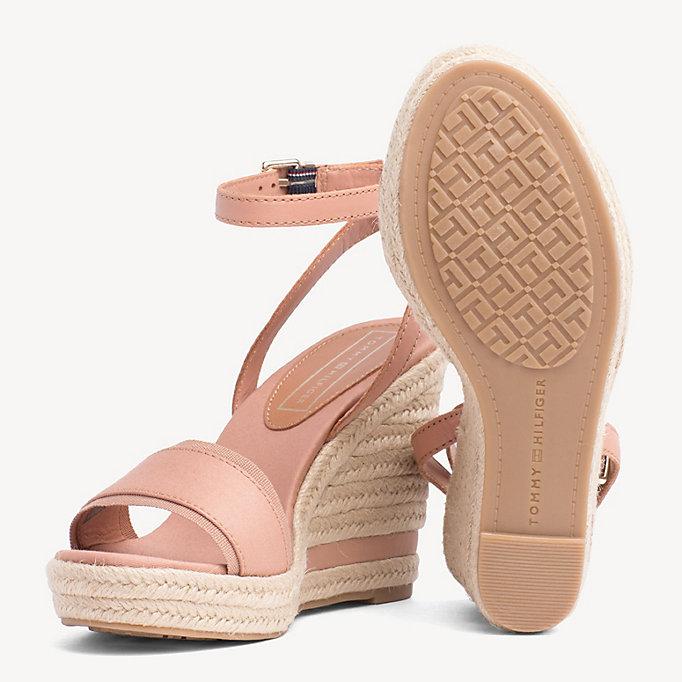 Sandale mit Keilabsatz | BEIGE | Tommy Hilfiger