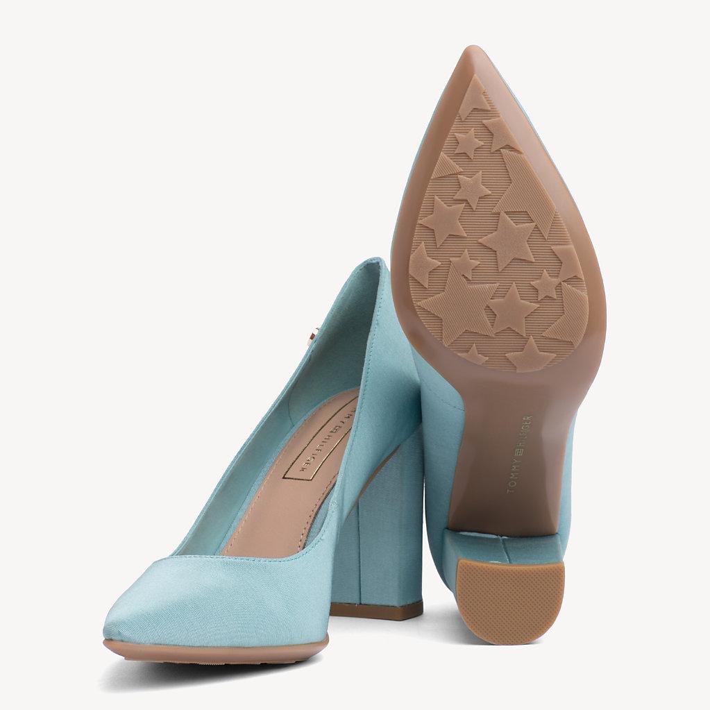 Tommy Hilfiger - Zapatos de salón de algodón - 2