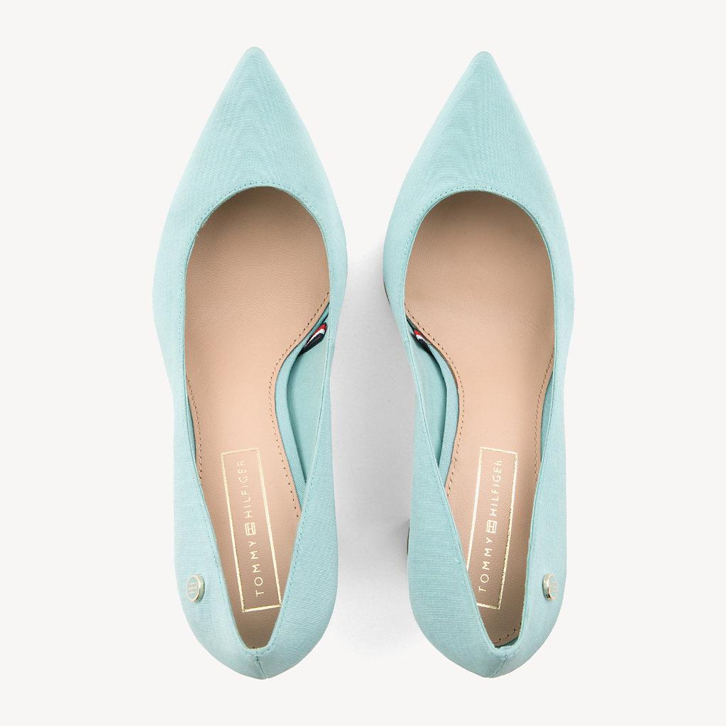 Tommy Hilfiger - Zapatos de salón de algodón - 4
