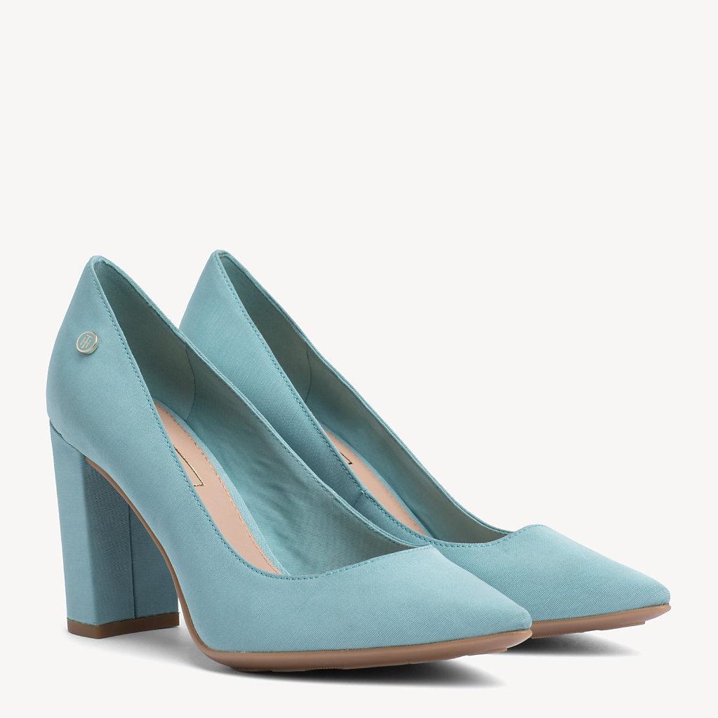 Tommy Hilfiger - Zapatos de salón de algodón - 1