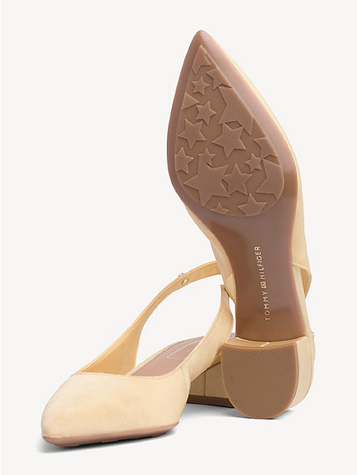TOMMY HILFIGER Textile Slingback Pumps - GOLDEN HAZE - TOMMY HILFIGER Pumps - detail image 1