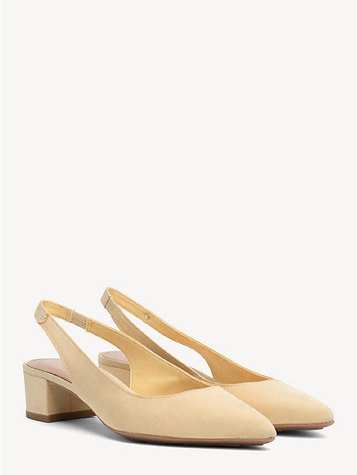 TOMMY HILFIGER Textile Slingback Pumps - GOLDEN HAZE - TOMMY HILFIGER Pumps - main image