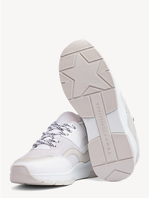 cdc3974be4274 TOMMY HILFIGERMix Panel Trainers