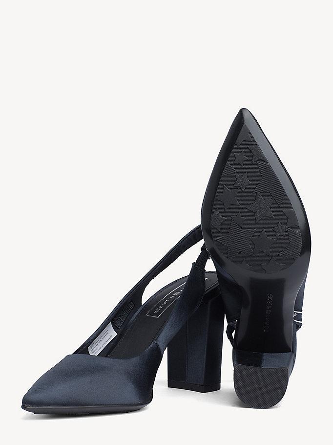 Tommy Hilfiger – scarpe aperte in punta – décolleté – con
