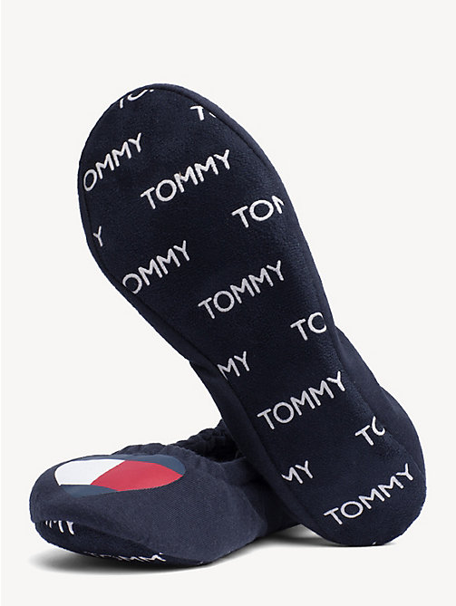 TOMMY HILFIGER Packable Flag Slippers - MIDNIGHT - TOMMY HILFIGER Shoes - detail image 1