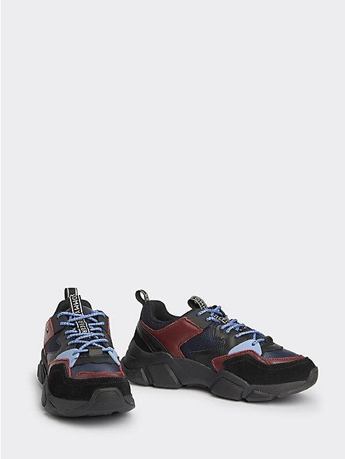 van haren blauwe dames sneakers