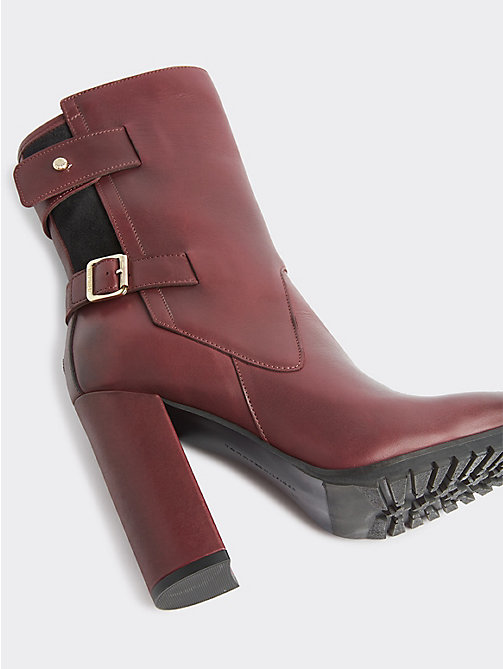 a44d71d191f Women's Ankle Boots | Chelsea & Leather Boots | Tommy Hilfiger® DK