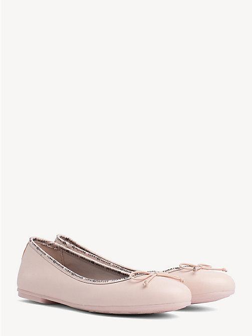 15c529d6c740 TOMMY HILFIGERLeather Ballerina Pumps. £85.00. NEW