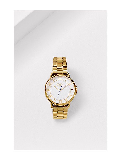 TOMMY HILFIGER Gold Plated Watch GiGi Hadid - GOLD - TOMMY HILFIGER Watches - main image