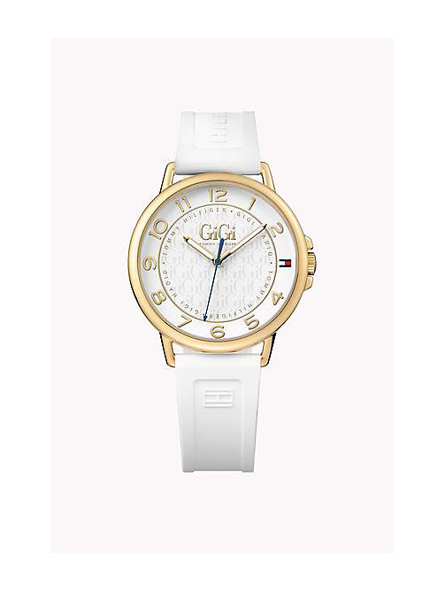 TOMMY HILFIGER Gold Plated Watch Gigi Hadid - WHITE - TOMMY HILFIGER Watches - detail image 1