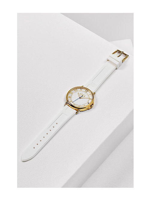 TOMMY HILFIGER Gold Plated Watch Gigi Hadid - WHITE - TOMMY HILFIGER Watches - main image