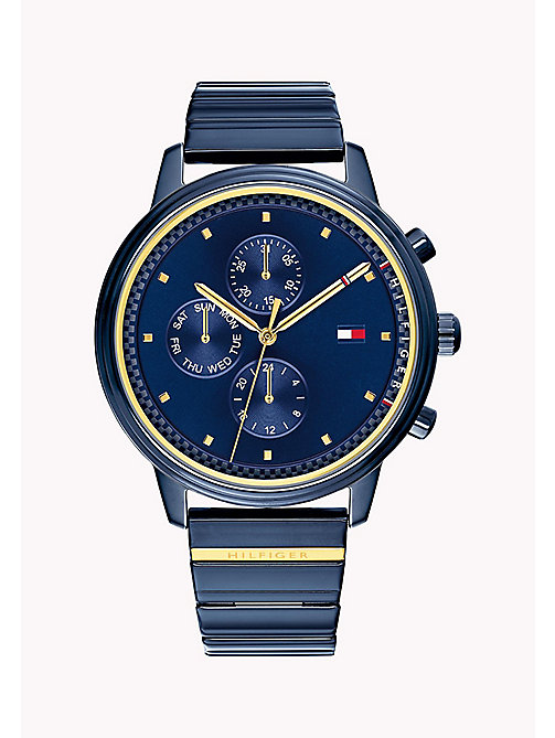TOMMY HILFIGER Gigi Hadid Blue Watch - NAVY - TOMMY HILFIGER Watches & Jewelry - main image