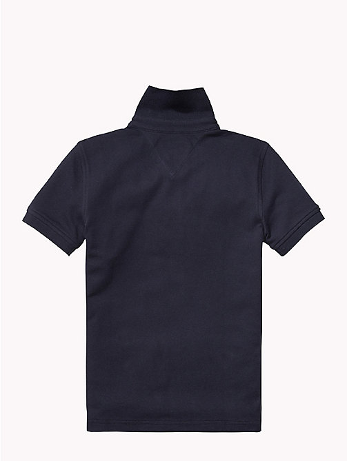 TOMMY HILFIGER Tommy Polo - MIDNIGHT - TOMMY HILFIGER Tops - detail image 1