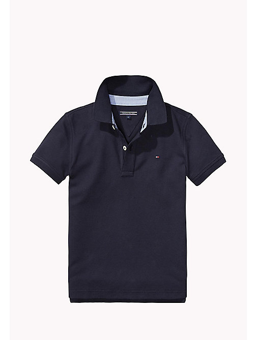 TOMMY HILFIGER Tommy Polo - MIDNIGHT - TOMMY HILFIGER Tops - main image