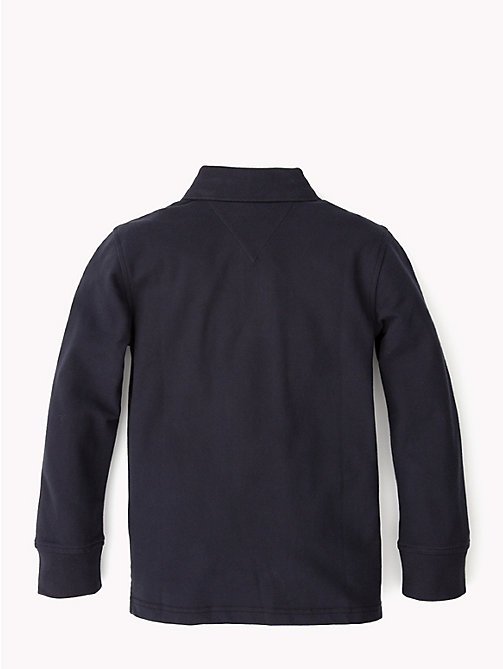 TOMMY HILFIGER Long Sleeve Polo Shirt - MIDNIGHT - TOMMY HILFIGER T-shirts & Polos - detail image 1