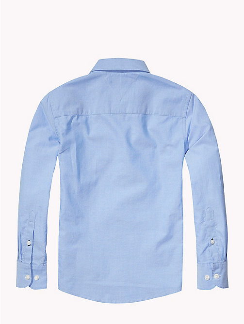 TOMMY HILFIGER Oxford Shirt - LIGHT BLUE - TOMMY HILFIGER Tops - detail image 1