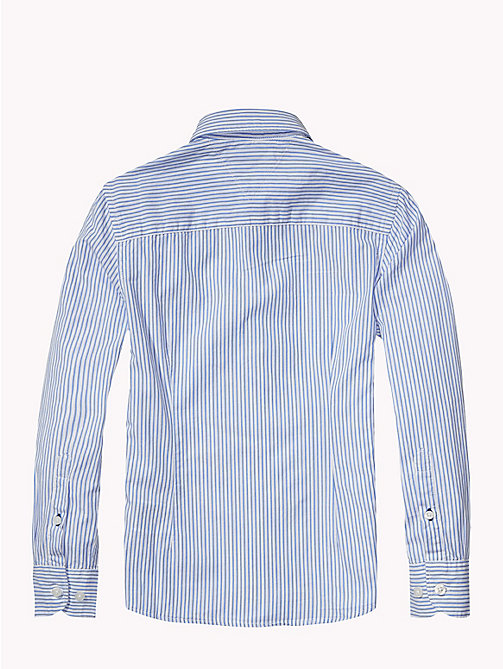 TOMMY HILFIGER All Over Stripe Shirt - SHIRT BLUE - TOMMY HILFIGER Shirts - detail image 1