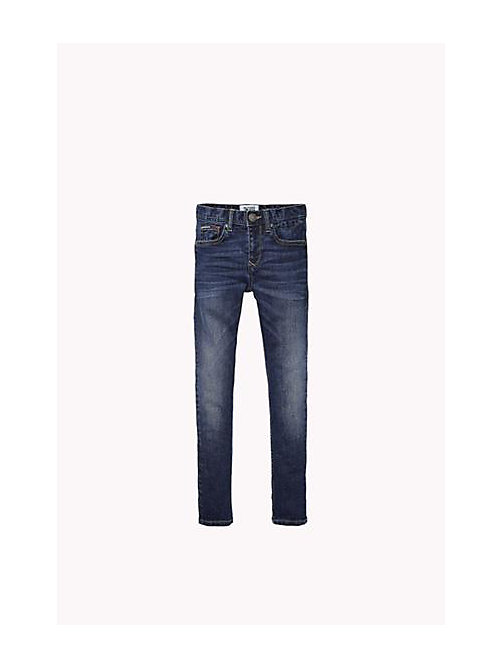 TOMMY HILFIGER Straight fit jeans - VERMONT MID WASH - TOMMY HILFIGER Jongens - main image