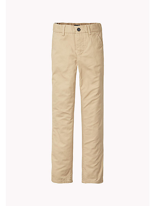 TOMMY HILFIGER Mercer Chinos - BATIQUE KHAKI - TOMMY HILFIGER Bottoms - main image