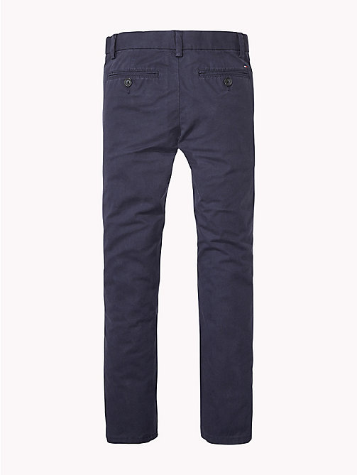 TOMMY HILFIGER Organic Cotton Chinos - MIDNIGHT - TOMMY HILFIGER Trousers & Shorts - detail image 1