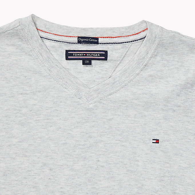 TOMMY HILFIGER Original - T-shirt - INDIGO HEATHER - TOMMY HILFIGER Enfants - image détaillée 2