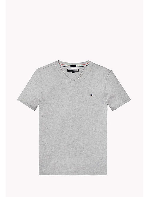 TOMMY HILFIGER Original T-Shirt - LIGHT GREY HEATHER - TOMMY HILFIGER Tops - main image