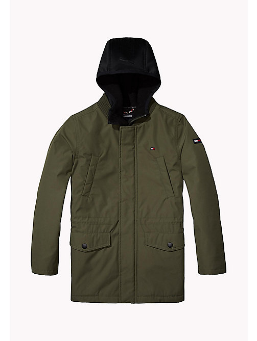 TOMMY HILFIGER 2-in-1 Coated Parka - GRAPE LEAF - TOMMY HILFIGER Boys - main image