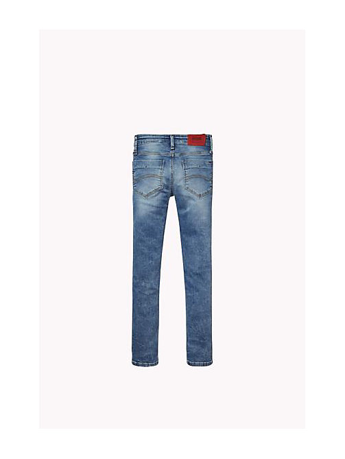 TOMMY HILFIGER Slim Fit Jeans - SEATLLE SNOW COMFORT STRETCH - TOMMY HILFIGER Boys - detail image 1