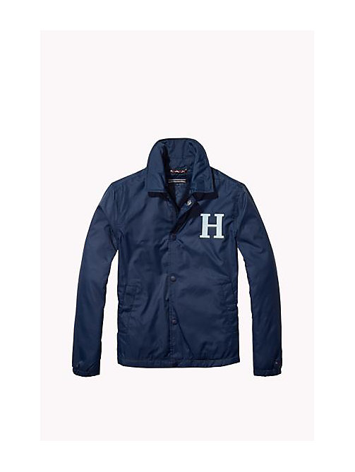 TOMMY HILFIGER Giacca in poliestere riciclato - NAVY BLAZER - TOMMY HILFIGER Bambino - immagine principale