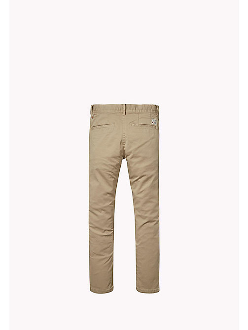 TOMMY HILFIGER Slim Fit Chino - BATIQUE KHAKI - TOMMY HILFIGER Boys - detail image 1