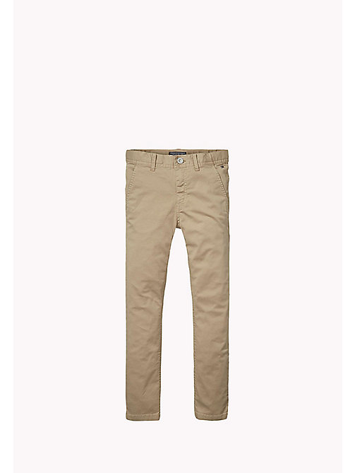 TOMMY HILFIGER Slim fit chino - BATIQUE KHAKI - TOMMY HILFIGER Jongens - main image