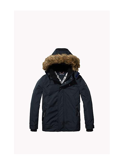 Shiny Lined Parka - VULCAN - TOMMY HILFIGER Boys - main image