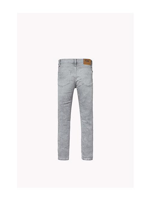 Sliga jeans slim fit - SLIGA LIGHT GREY STRETCH - TOMMY HILFIGER Niños - imagen detallada 1
