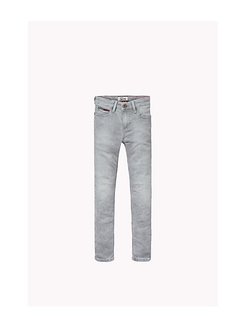 Sliga jeans slim fit - SLIGA LIGHT GREY STRETCH - TOMMY HILFIGER Niños - imagen principal