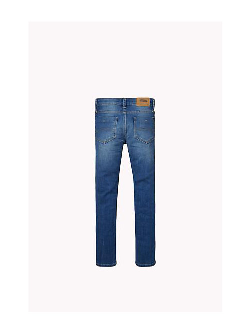 TOMMY HILFIGER Slim Fit Jeans - DELRIDGE BLUE DESTRUCTED STRETCH - TOMMY HILFIGER Boys - detail image 1