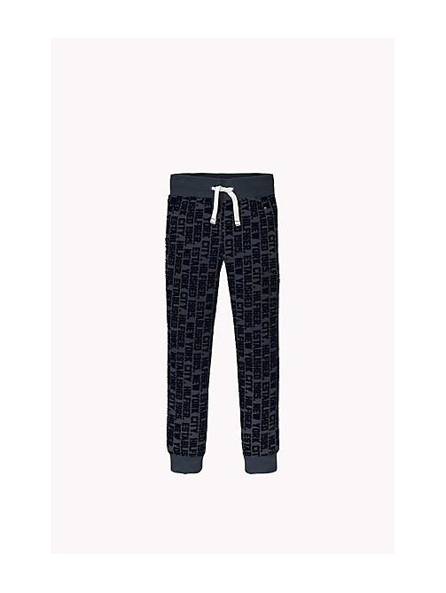 TOMMY HILFIGER Printed Sweatpant - VULCAN - TOMMY HILFIGER Boys - main image