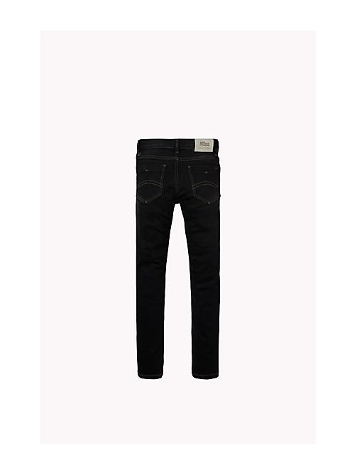 Eco-repel Slim Fit Jeans - PROTECT BLACK STRETCH - TOMMY HILFIGER Boys - detail image 1