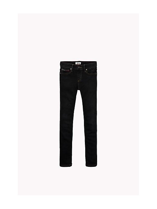 Jeans slim fit eco-repel - PROTECT BLACK STRETCH - TOMMY HILFIGER Niños - imagen principal