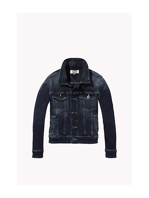 Cotton Stretch chaqueta denim - PACIFIC BLUE BLACK COMFORT STRETCH - TOMMY HILFIGER Niños - imagen principal