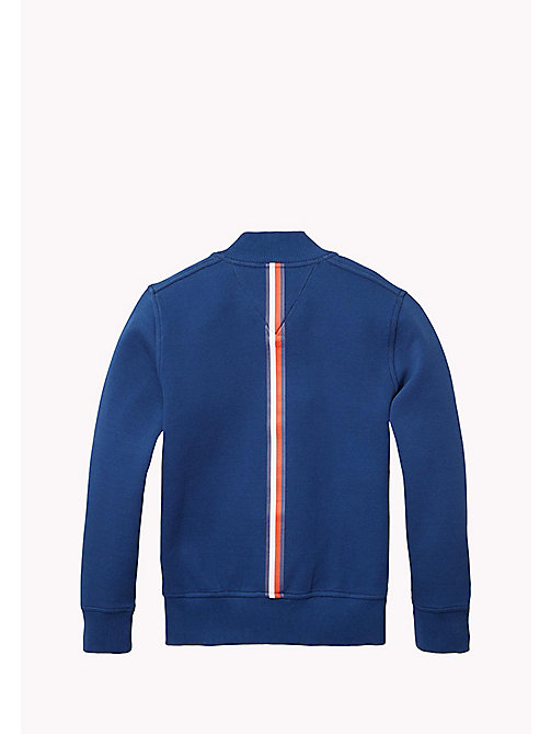TOMMY HILFIGER Bonded Cotton Jacket - ESTATE BLUE - TOMMY HILFIGER Boys - detail image 1