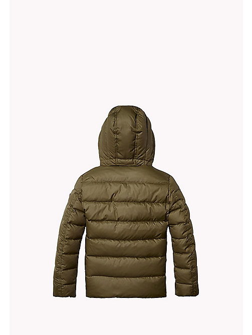 TOMMY HILFIGER Quilted Down Jacket - FOREST NIGHT? - TOMMY HILFIGER Boys - detail image 1