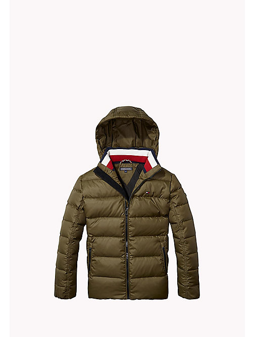TOMMY HILFIGER Quilted Down Jacket - FOREST NIGHT? - TOMMY HILFIGER Boys - main image