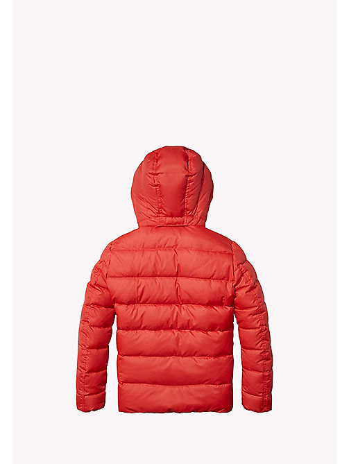 TOMMY HILFIGER Quilted Down Jacket - SALSA - TOMMY HILFIGER Boys - detail image 1
