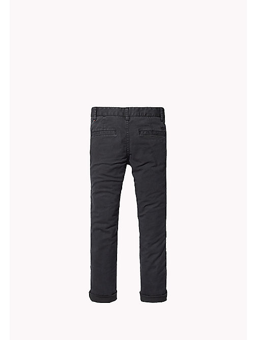 TOMMY HILFIGER Skinny Fit Chino - TOMMY BLACK - TOMMY HILFIGER Boys - detail image 1