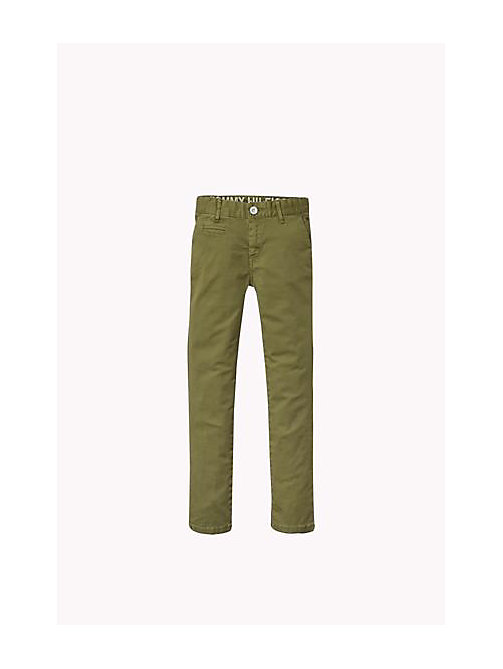 Skinny Fit Chino - FOUR LEAF CLOVER - TOMMY HILFIGER Boys - main image